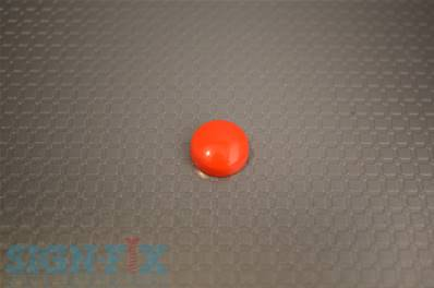 CACHE VIS PLASTIQUE Ø13MM ROUGE BRILLANT