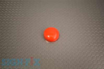 CACHE VIS PLASTIQUE Ø16MM ROUGE BRILLANT
