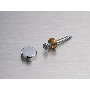 CACHE VIS CHANFREINE Ø12MM CHROME